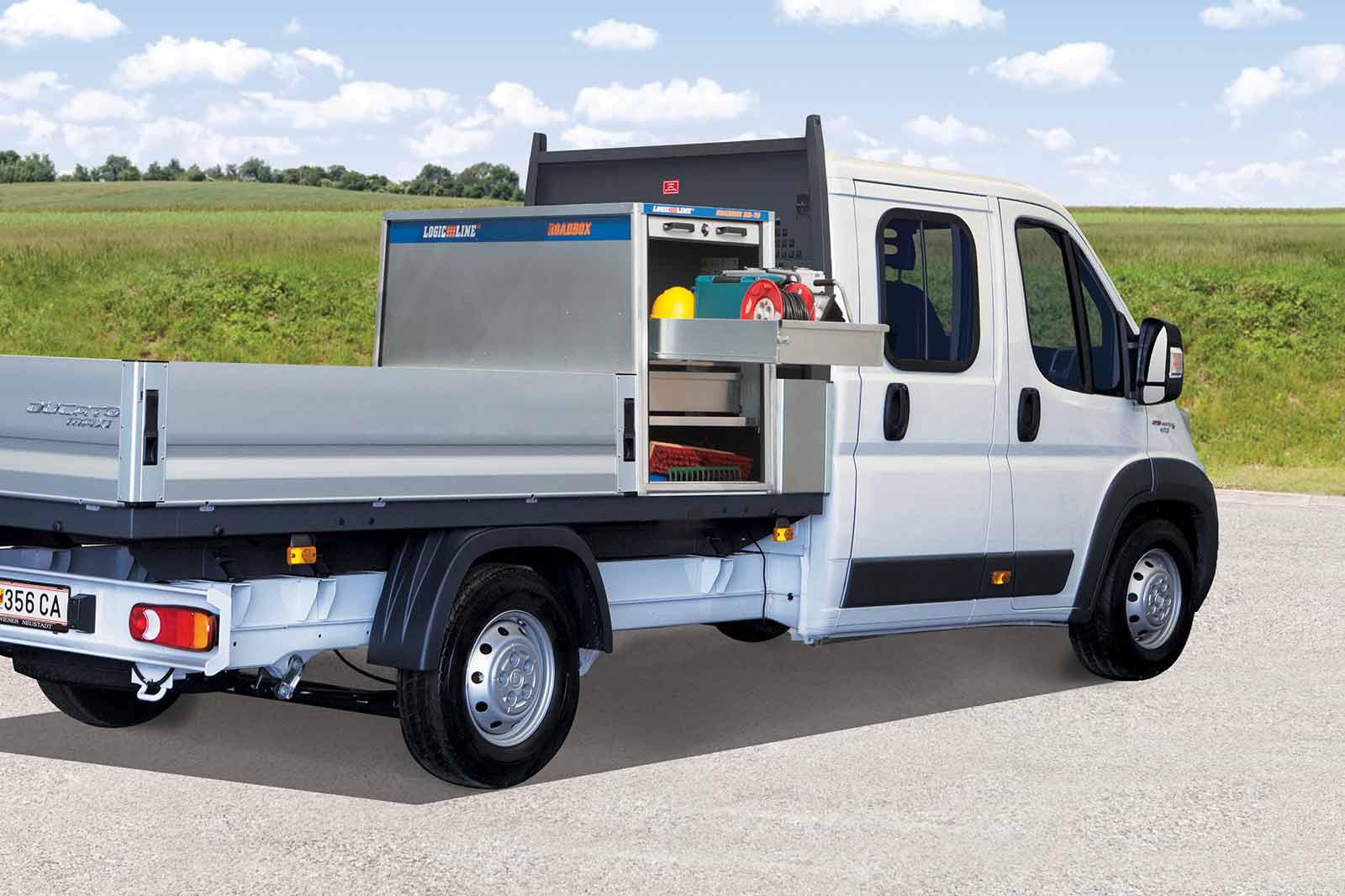 Fiat Ducato mit LogicLine Transportbox