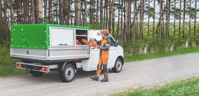 LogicLine Lösungen für den Forstbetrieb