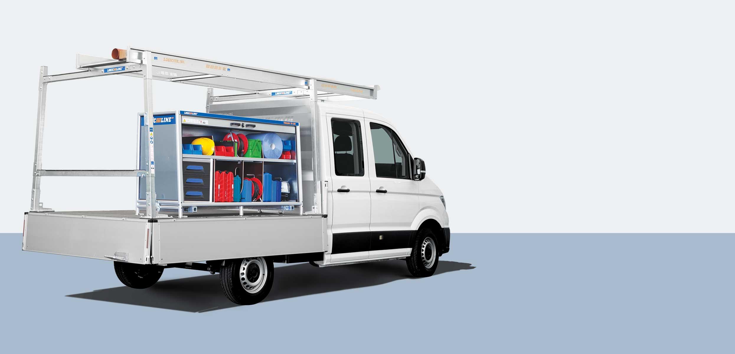 LogicLine Lösungen für Volkswagen Crafter, Transporter & Amarok