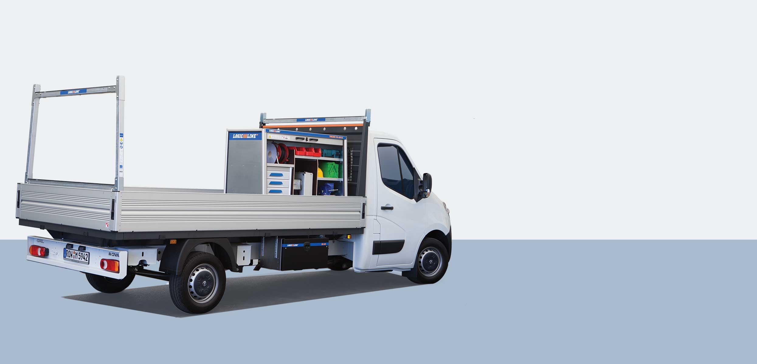 LogicLine Lösungen für Opel Movano und Vivaro
