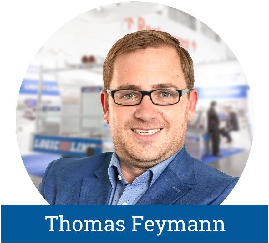 Thomas Feymann, Leiter Vertrieb LogicLine Europe GmbH