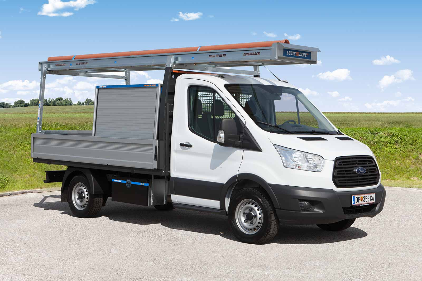 Ford Transit mit LogicLine Lastenträger