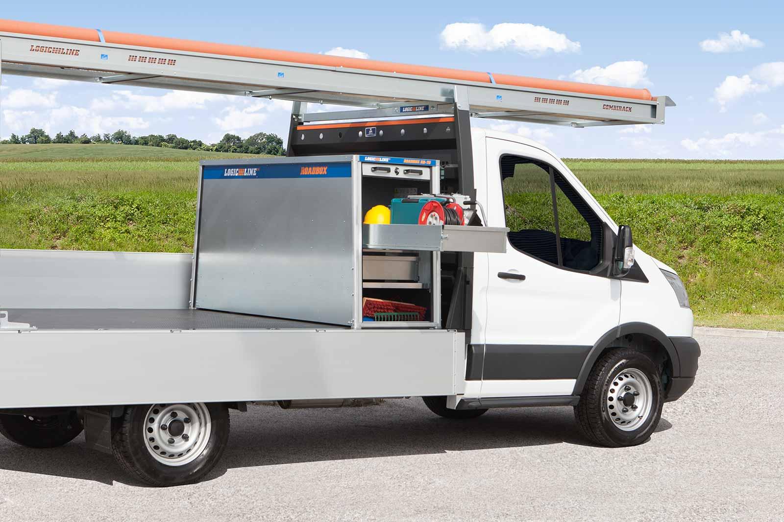 Ford Transit mit LogicLine Transportbox
