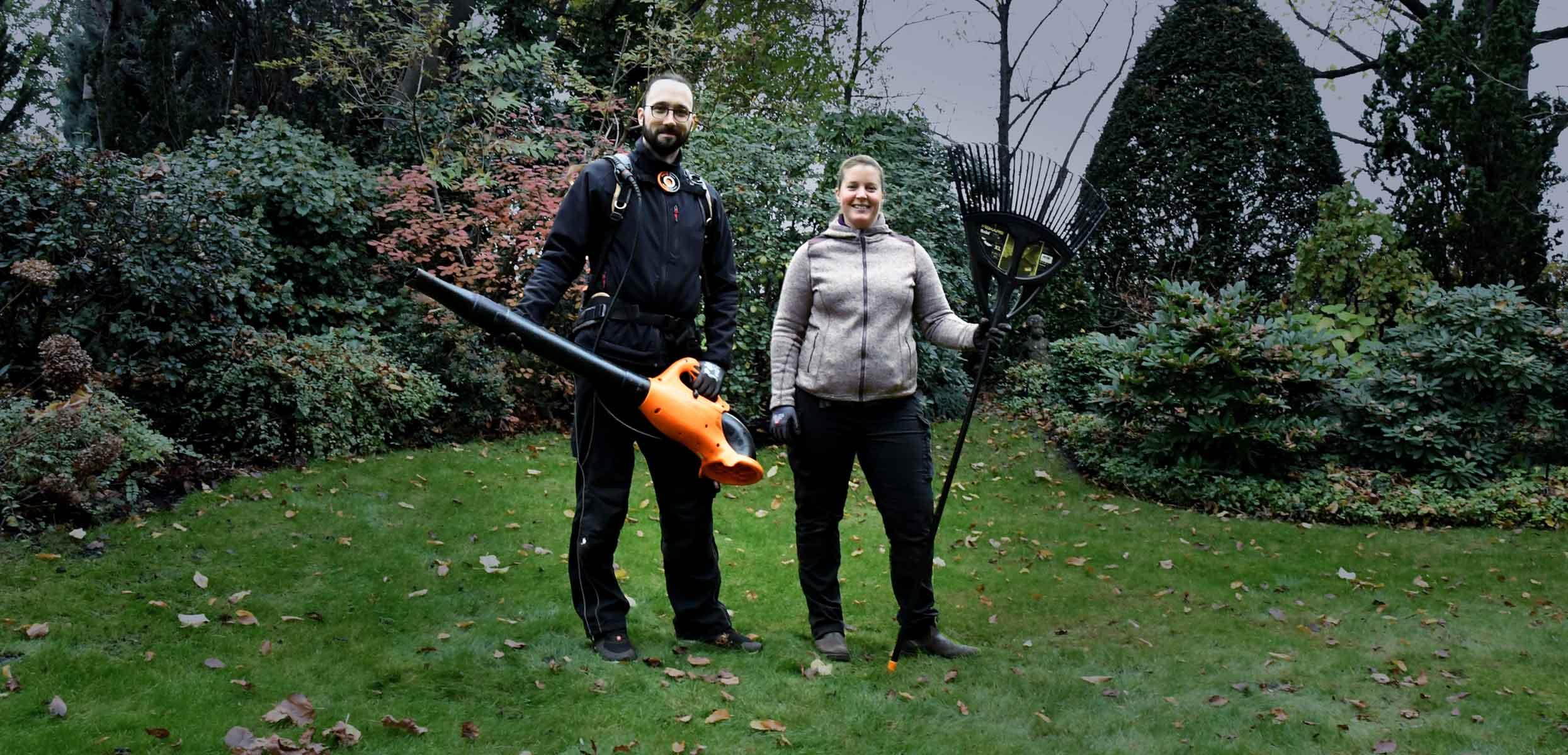 LogicLine vereinfacht Gartenarbeit
