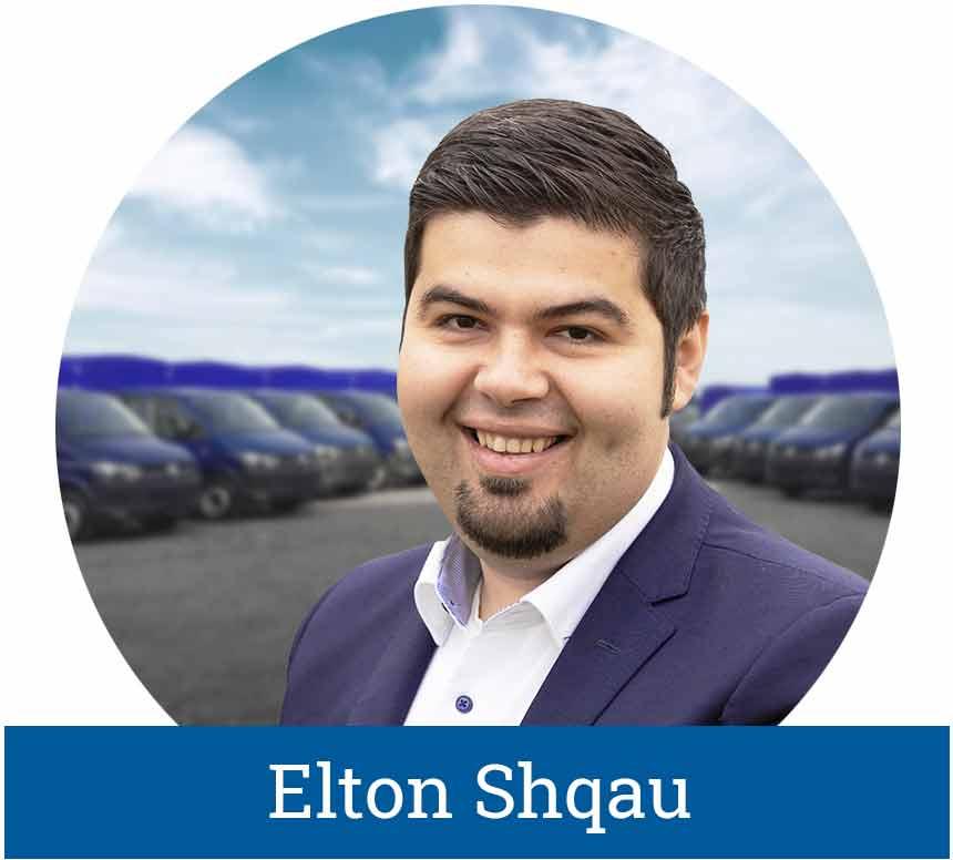 Elton Shqau, Verkaufsleiter LogicLine Europe GmbH