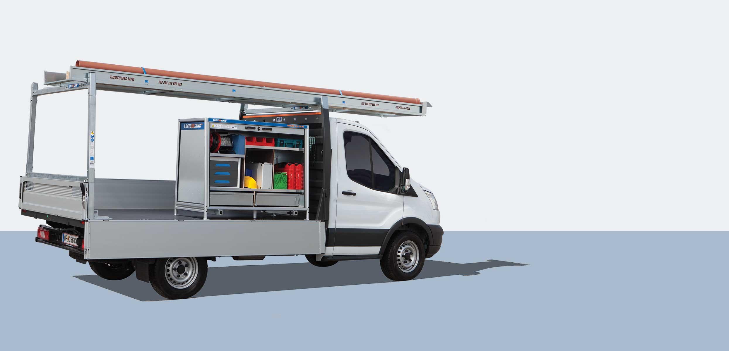 LogicLine Lösungen für Ford Transit und Ranger