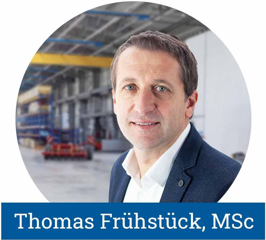 Geschäftsführer LogicLine Technology Thomas Frühstück, MSC
