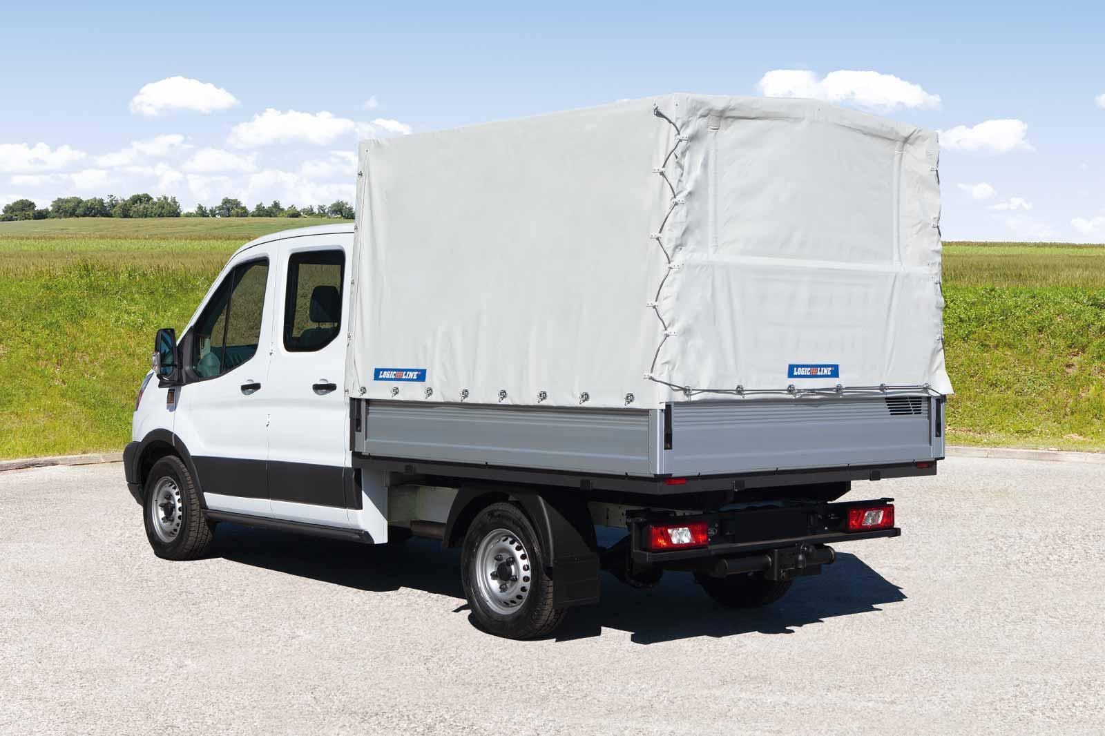 Ford Transit mit LogicLine Planenaufbau