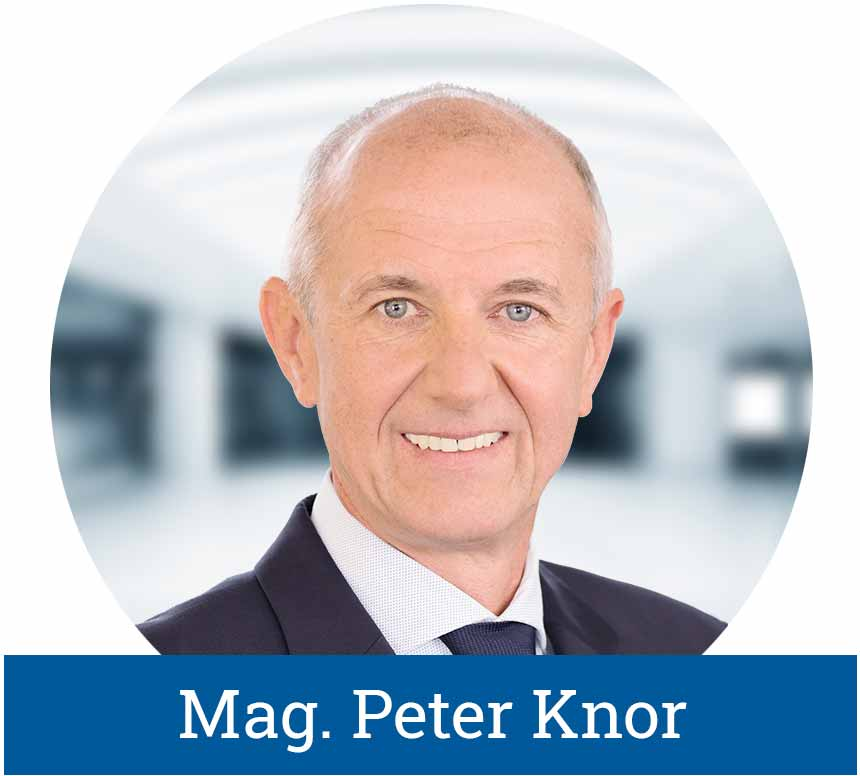 Geschäftsführender Gesellschafter der LogicLine Europe GmbH Mag. Peter Knor